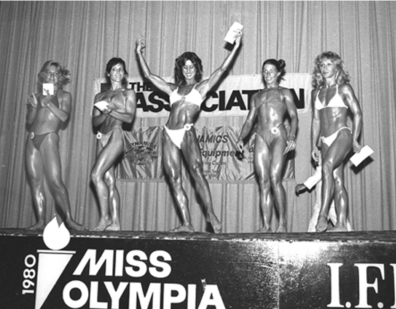 Rachel mcLish wins 1980 Ms. Olympia
