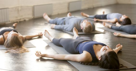 Savasana. Imagery from Shape.com