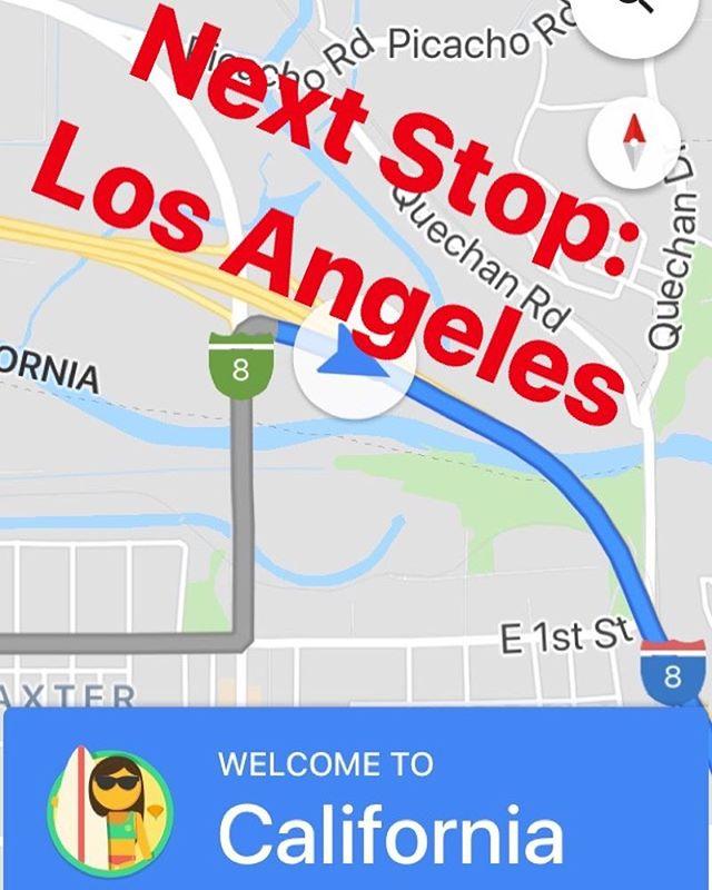 Hey hey hey LA 👋