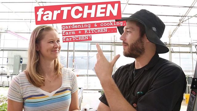 Yes, farTCHEN. Am I proud of the name? Eh. Am I proud of the show? Oh yea!! Full length pilot on YouTube now! A farm-to-table cooking show by Michelle Dubis, Tyler Baras & Cyrus Moshrefi #fartchen #youtube