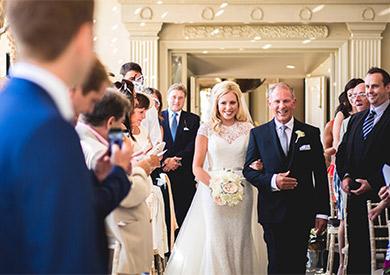 Le Manoir aux Quat'Saison Wedding Flowers