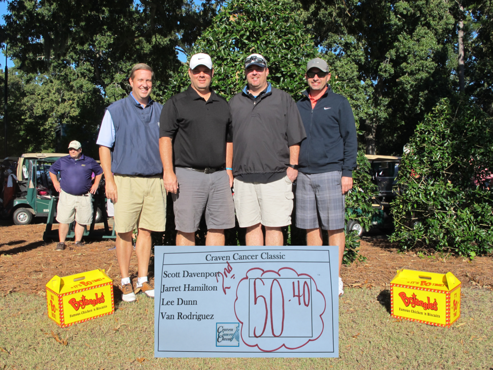 Overall 2nd place  - left to right- Lee Dunn, Van Rodriguez, Scott   Davenport  , Jarret   Hamilton