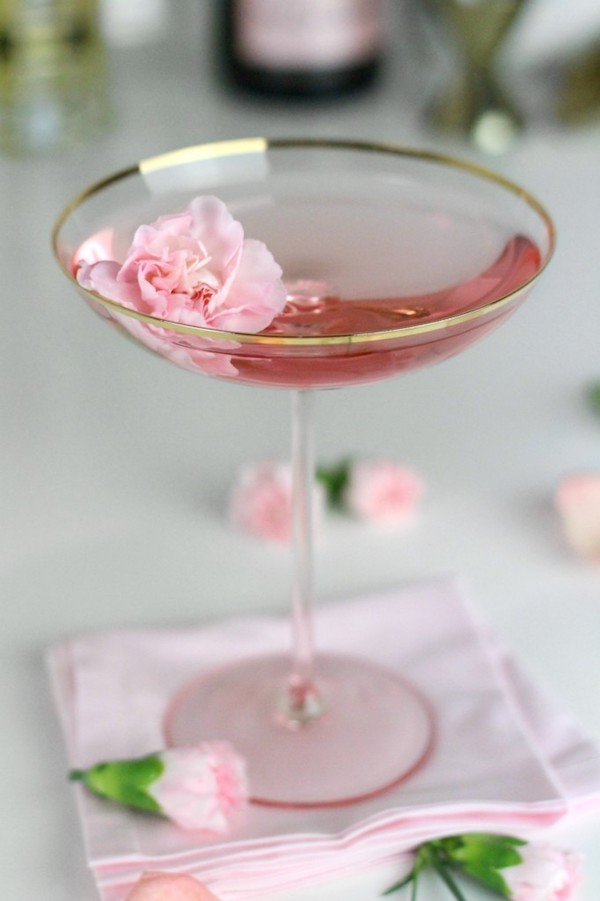 La Fleurette Cocktail via  Lulus