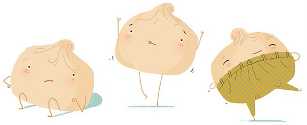 Ugly Dumpling illustration