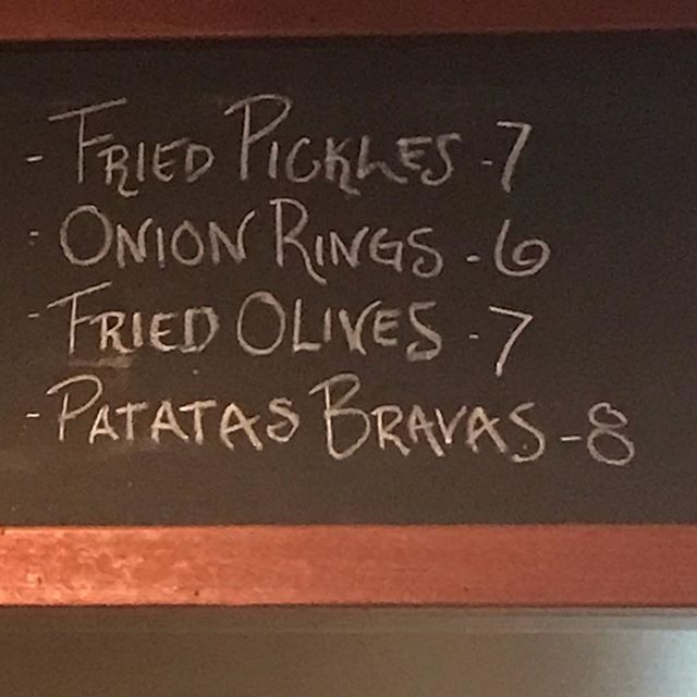 Sure none of this is tasty. #helpme #pickles #friedolives #friedfood