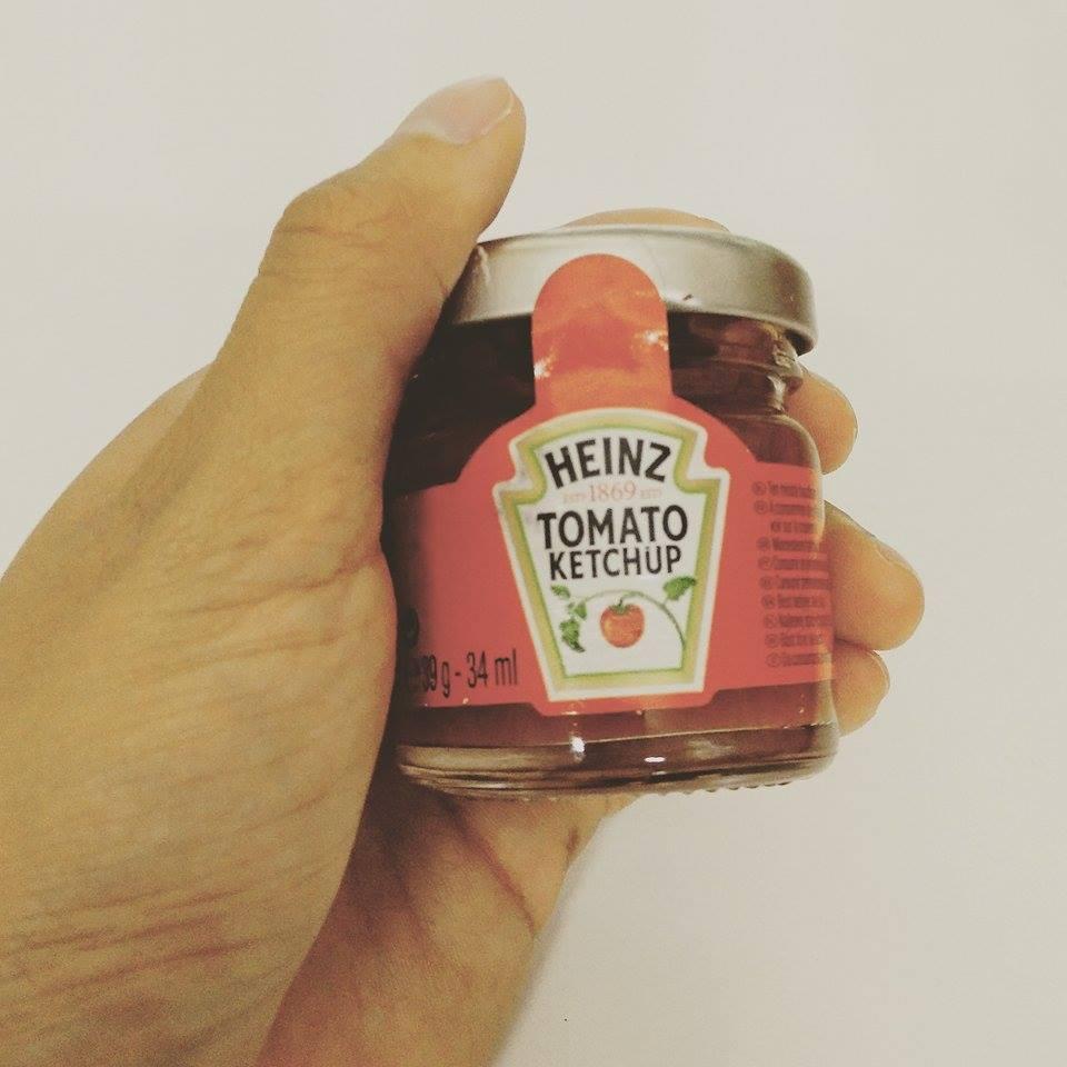 Superpeach coffee blog mini Heinz ketchup