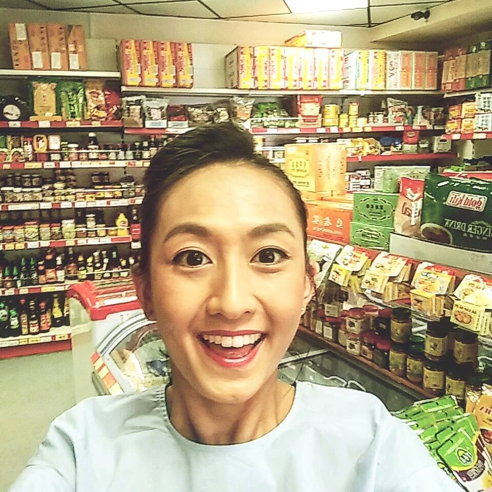 Superpeach Kim Lien Mini Market blog selfie