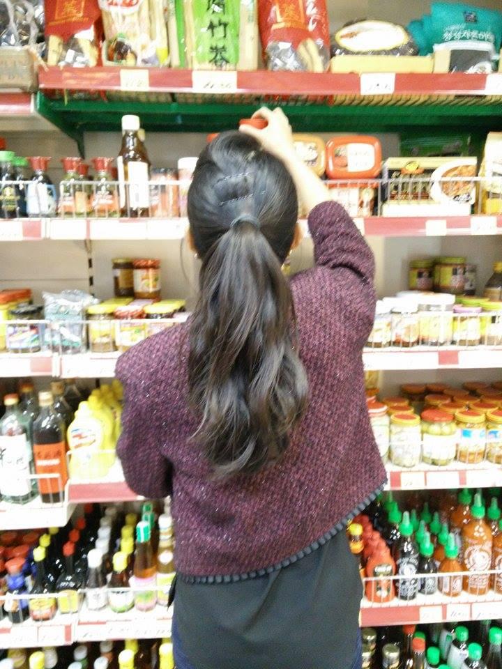 Superpeach Kim Lien Mini Market blog back shelf stocking