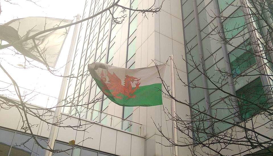 Superpeach Wales blog Welsh flag