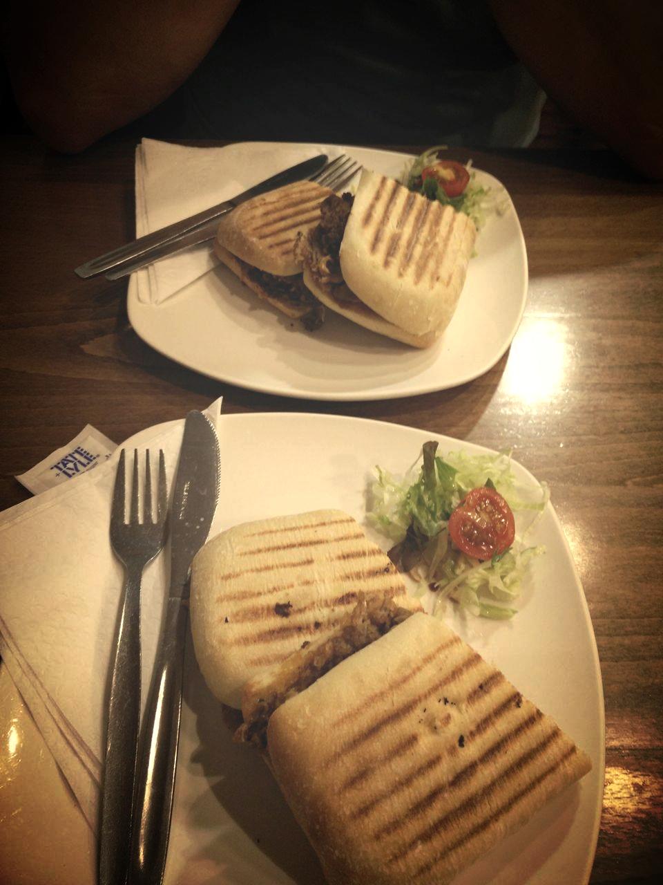 Superpeach Wales blog Le Rendevous cafe pulled pork baguette