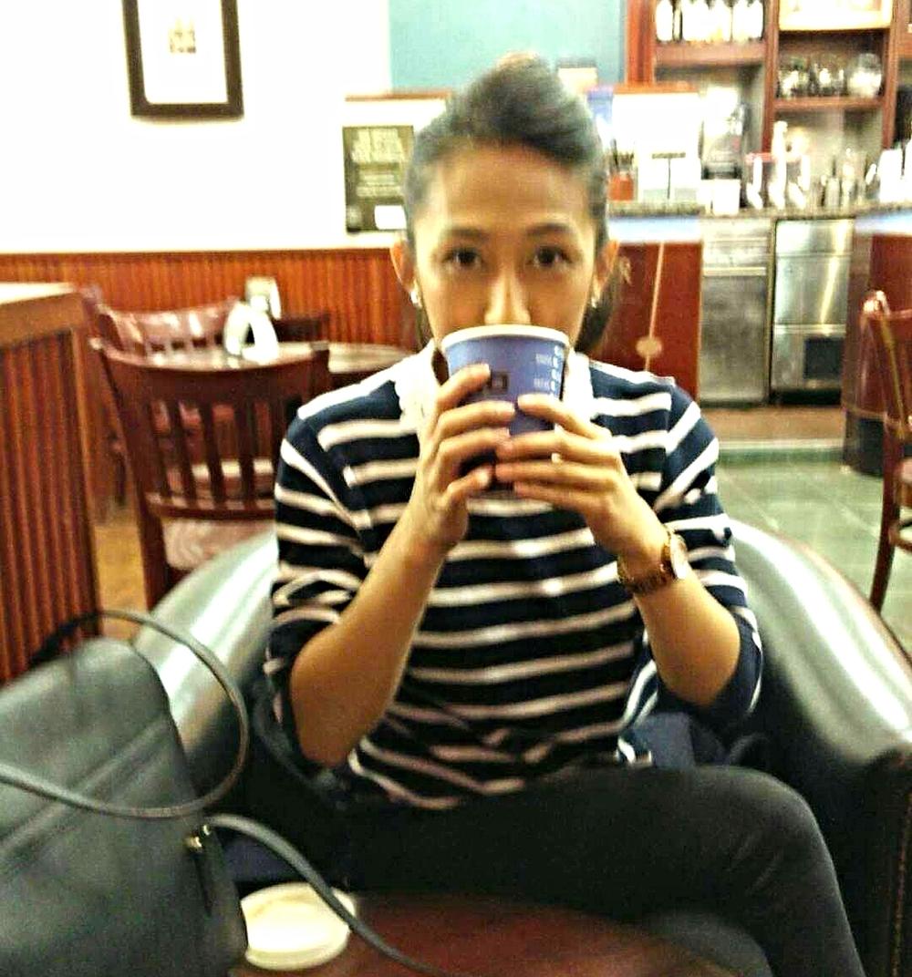 Superpeach Wales blog Cafe Nero coffee break