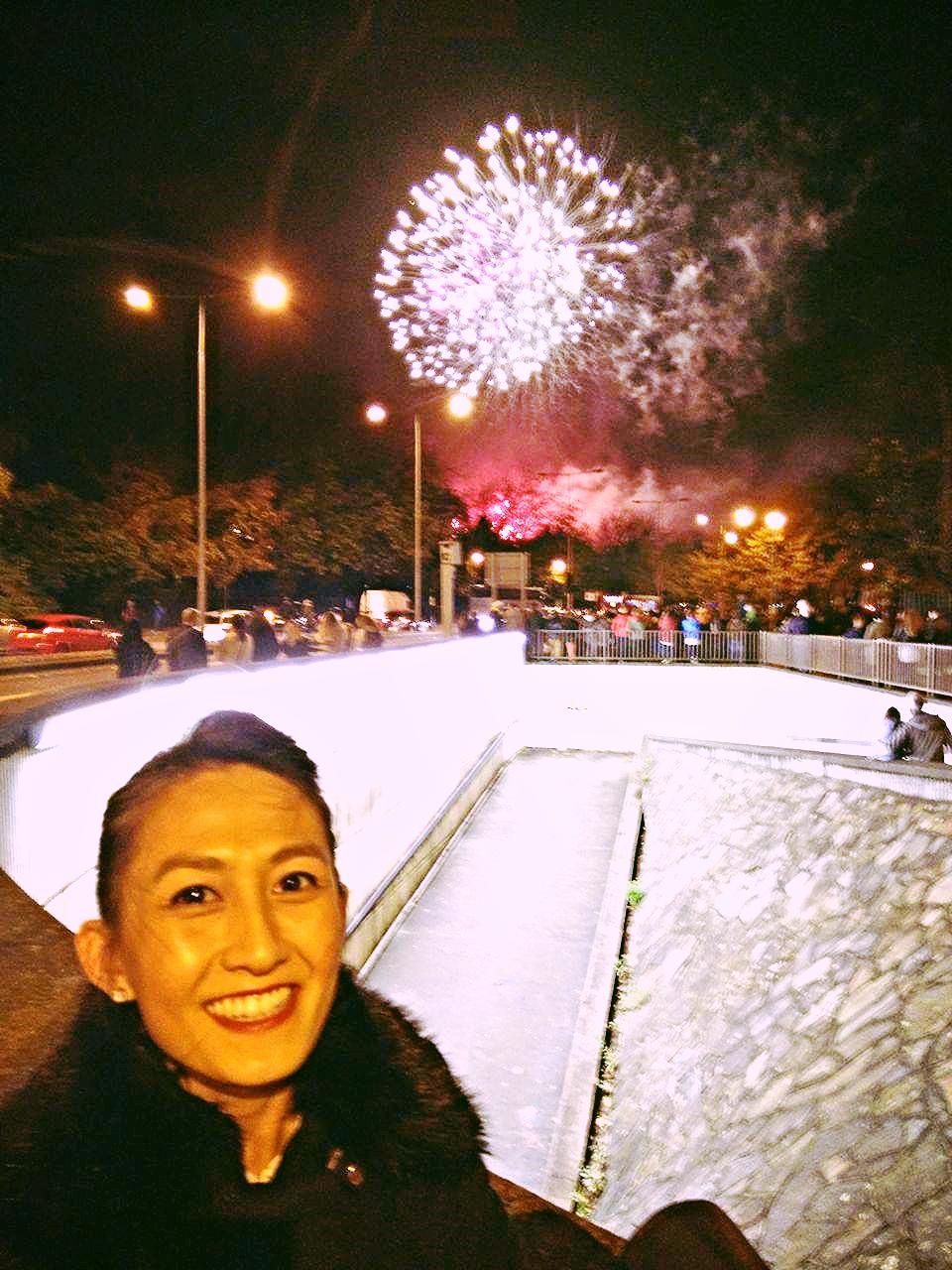 Superpeach Wales blog fireworks display me