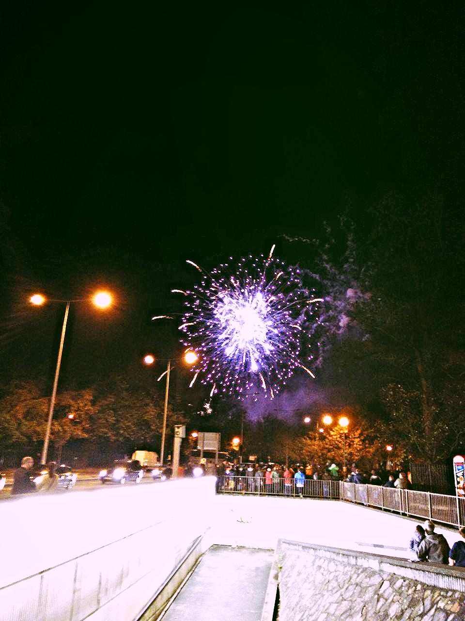 Superpeach Wales blog fireworks display 2