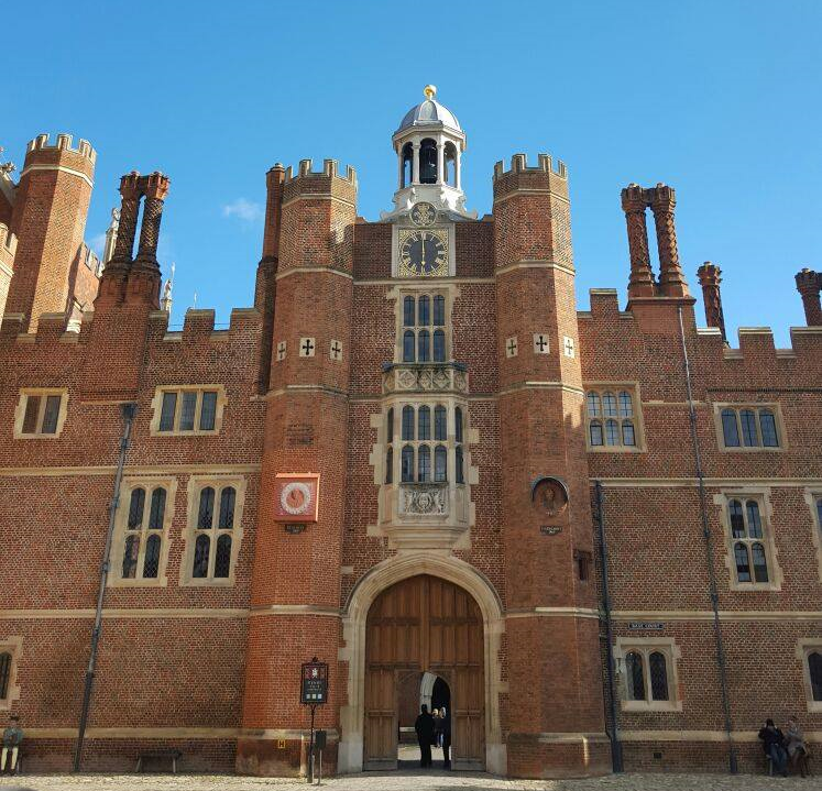 Superpeach blog Hampton Court up close