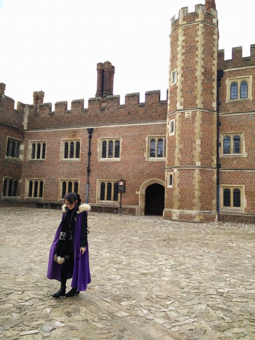 Superpeach blog Hampton Court Base Court