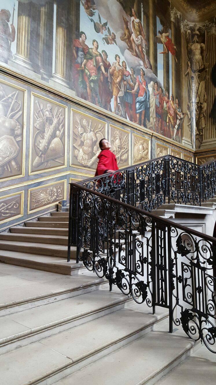 Superpeach blog Hampton Court staircase
