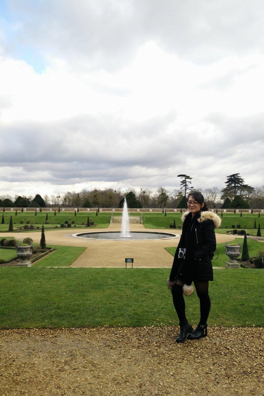 Superpeach blog Hampton Court fountain