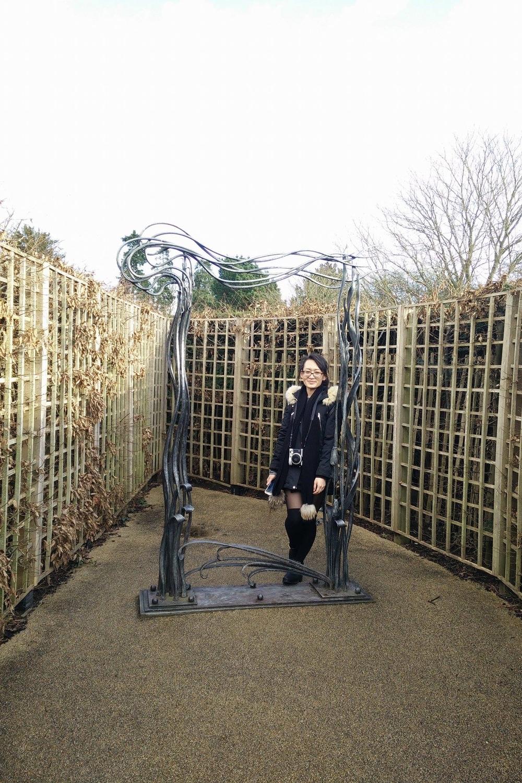 Superpeach blog Hampton Court Remi maze