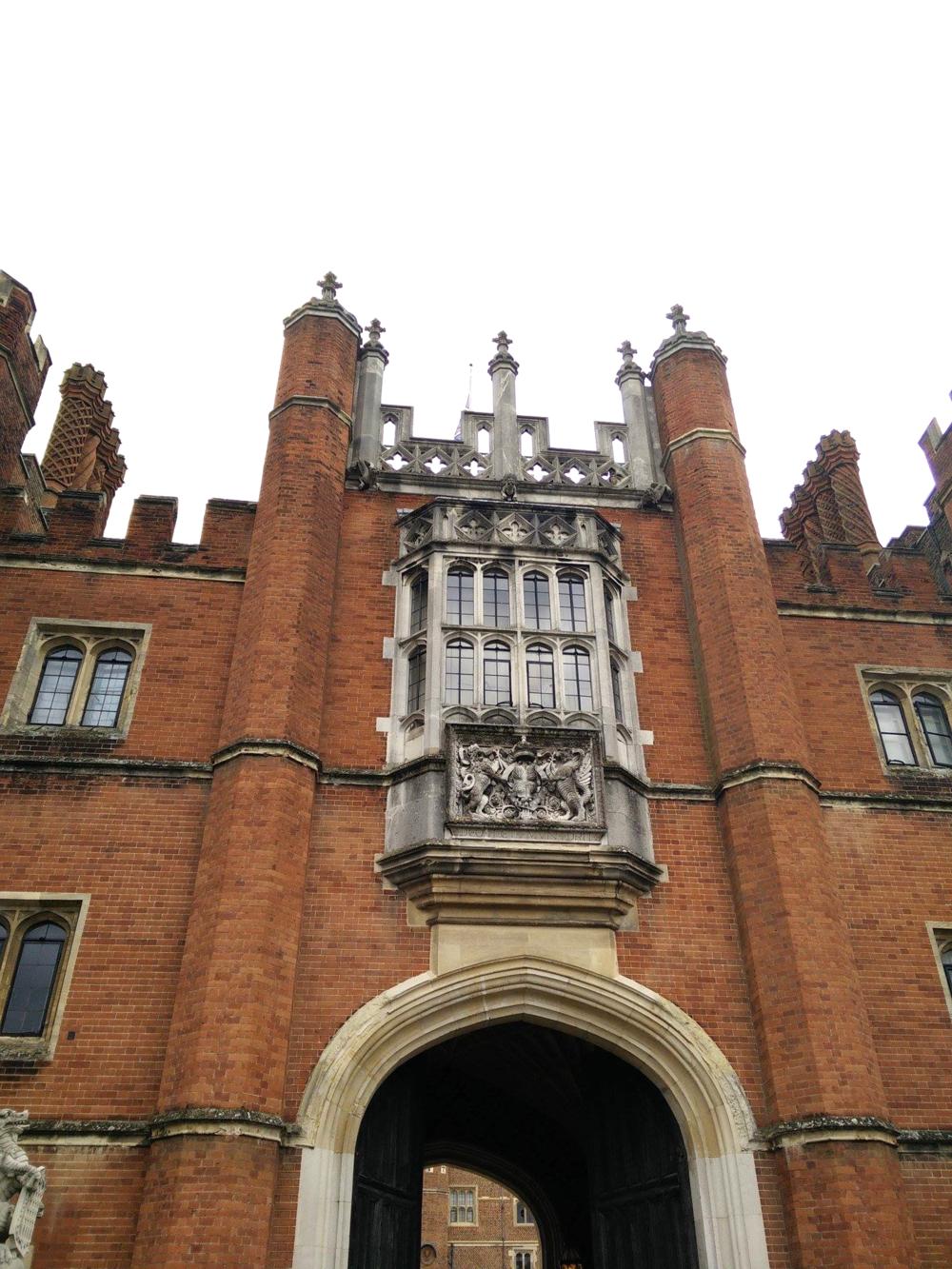 Superpeach blog Hampton Court windows