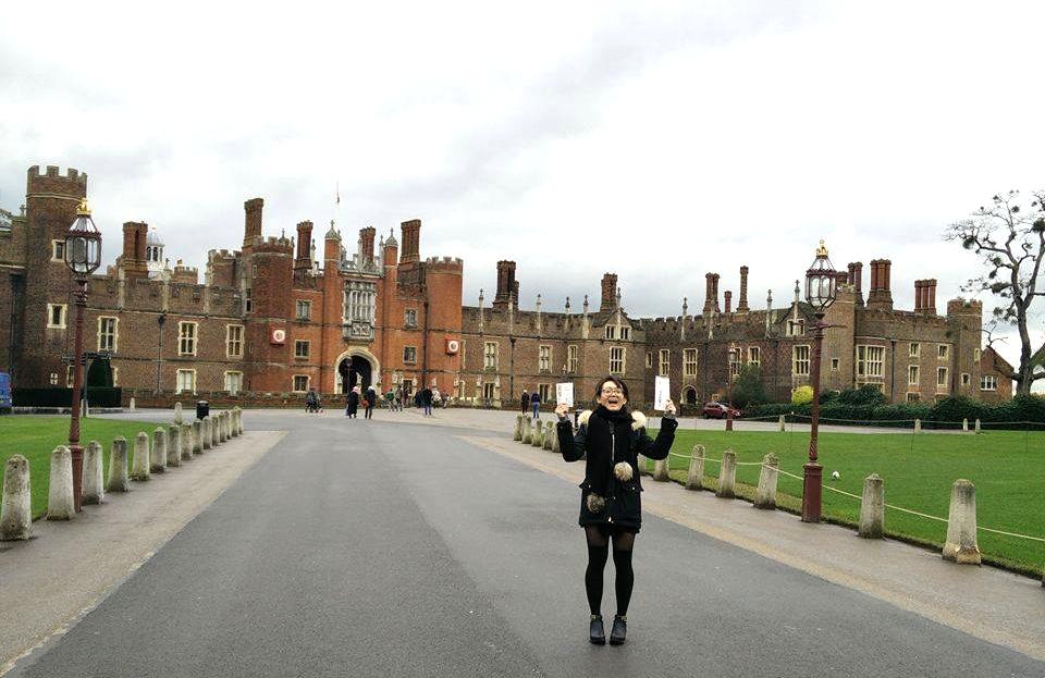 Superpeach blog Hampton Court from afar