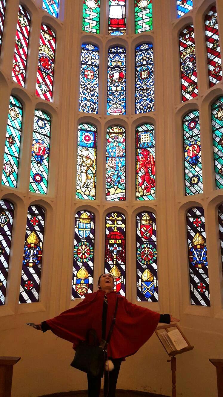 Superpeach blog Hampton Court window
