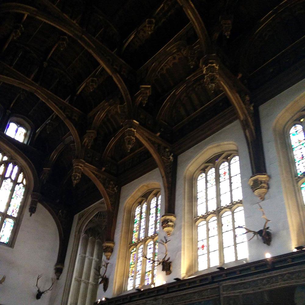 Superpeach blog Hampton Court ceiling