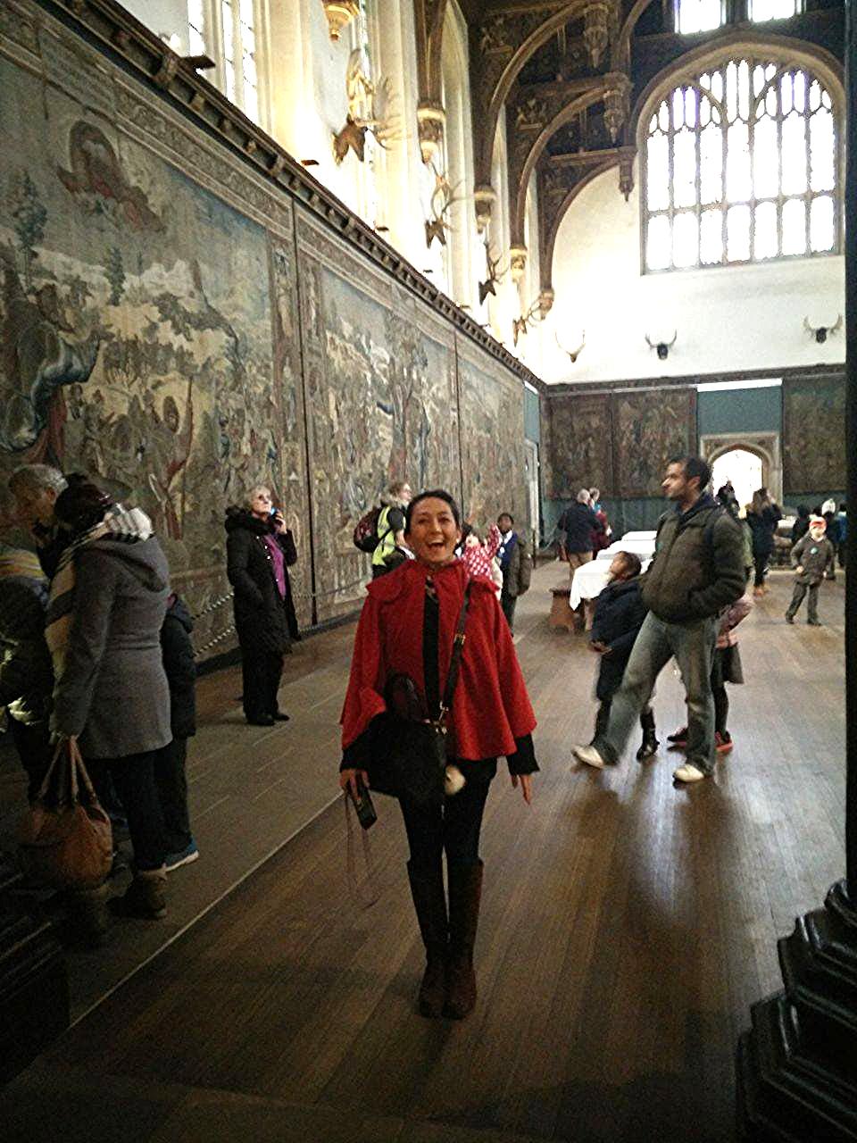 Superpeach blog Hampton Court hall