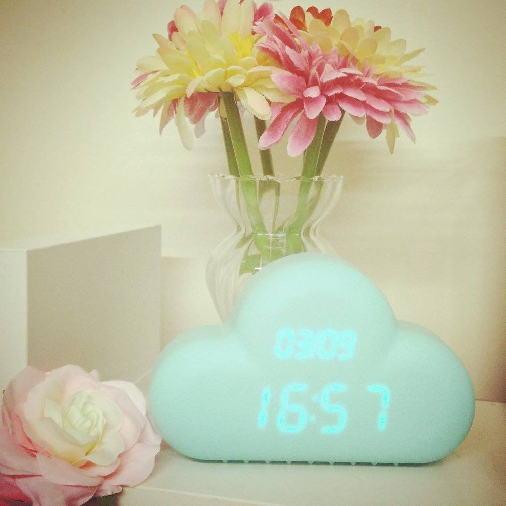 Superpeach blog - My experience workinging with bloggers - cloud clock