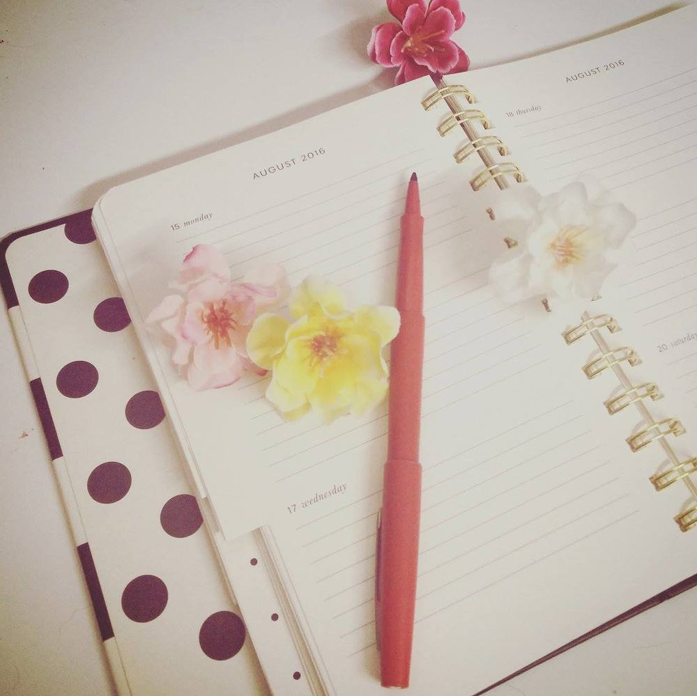Superpeach blog - My experience workinging with bloggers - diary and flowers