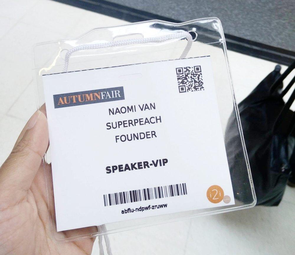 Superpeach Autumn Fair 2016 10