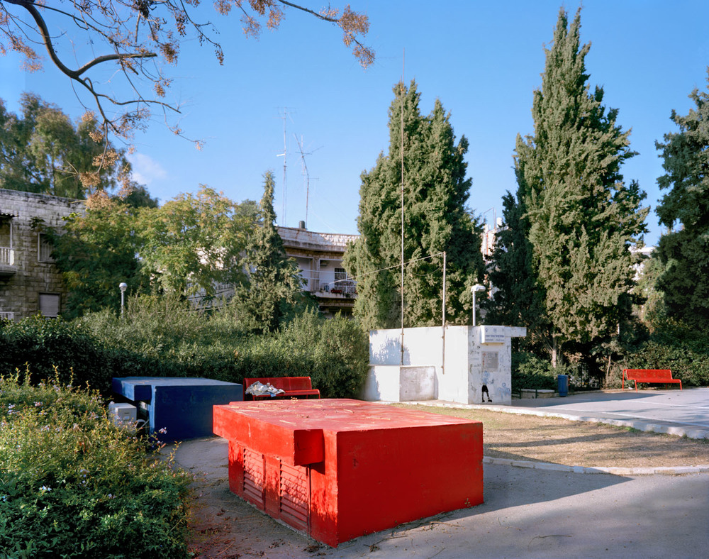 "Rechavia, Jerusalem, 2007, Chromogenic print, 20"" x 30"""