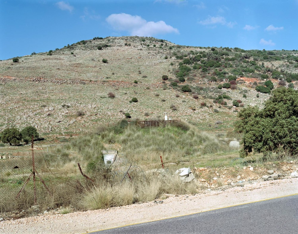 "Golan Heights, Israel,  2007, Chromogenic print, 20"" x 30"""