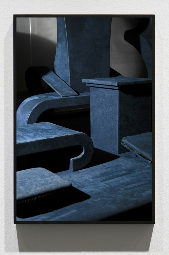 Untitled (Blue Necks),    2013/2015, Pigment print, 45 x 30 inches