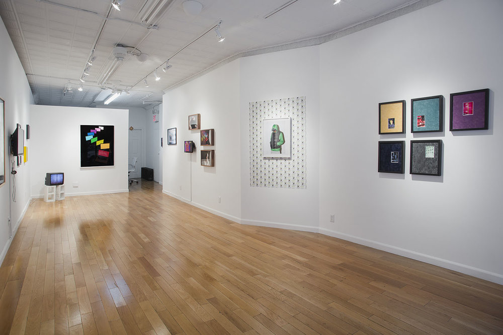 Advanced Master Remix , Exhibition view, Baxter St. at the Camera Club of NY, 2015