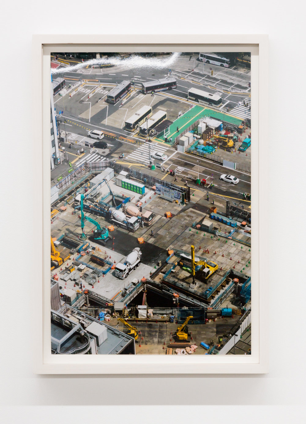 Untitled (Shibuya II), Tokyo, Japan,  2017, Chromira print on Glossy Fujicolor Crystal Archive Paper, Unframed: 14 x 9 1/3 inches, Framed: 15 3⁄4 x 12 5/8 x 1 3/8 inches