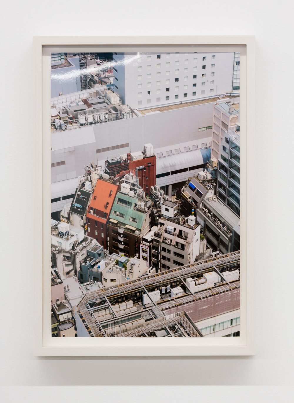 Untitled (Shibuya I), Tokyo, Japan,  2017, Chromira print on Glossy Fujicolor Crystal Archive Paper, Unframed: 14 x 9 1/3 inches, Framed: 15 3⁄4 x 12 5/8 x 1 3/8 inches