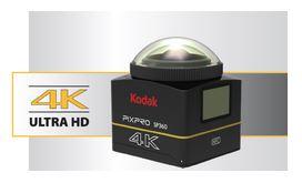 Introducing The Kodak PROPIX SP360- 4K ACTION CAMERA