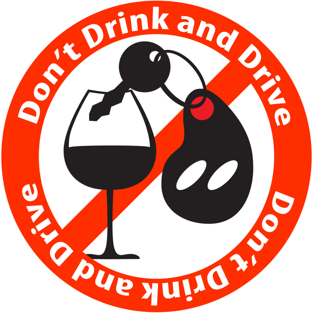 Don't Drink & Drive   .                                                            The  only  safe limit is ZER0.