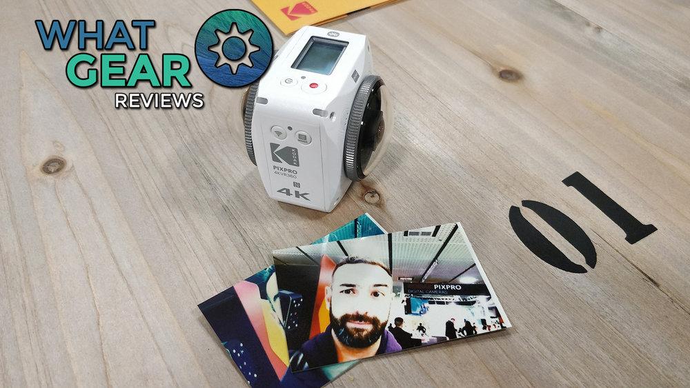 Kodak Pixpro 4K VR 360 Camera @IFA2017 VLOG 1 — WhatGear Net