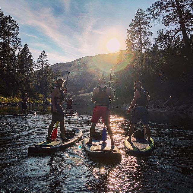 well that was a friday afternoon well spent with the boys stretching summer and soaking in all we can from the #payetteriver in the wonderful state of #idaho
