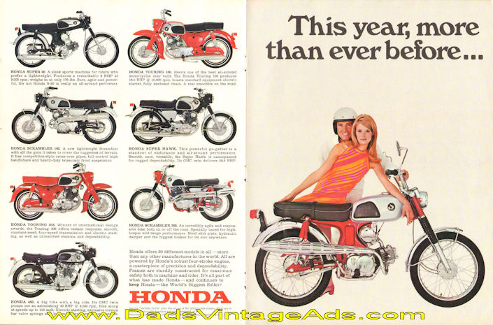 0 1968 Honda 305 CA77 Dream