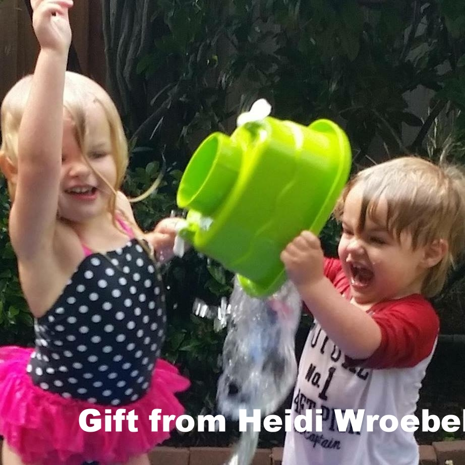 Joyous contribution from Heidi Wroebel