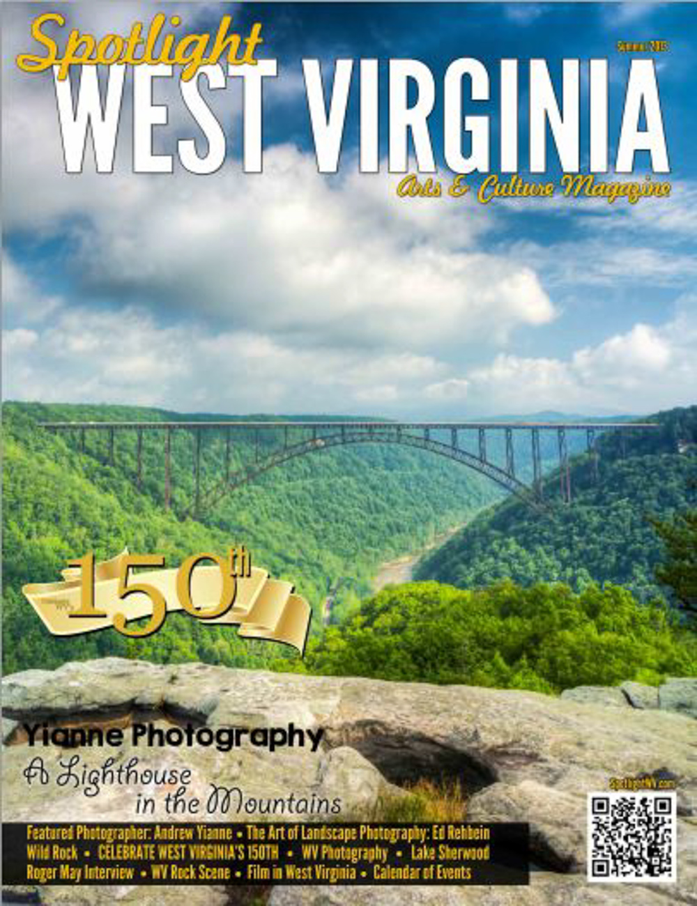 Cover for Spotlight West Virginia