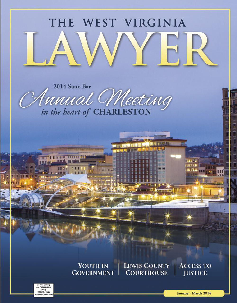 Cover for The West Virginia Lawyer