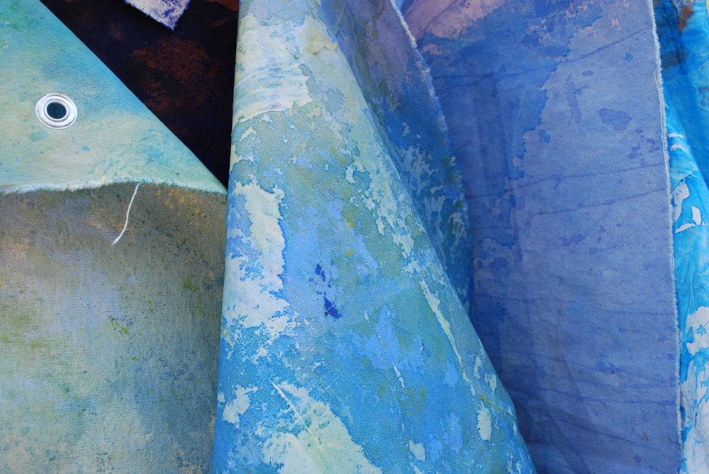 Sophia Tise Artist _ Blue Linen