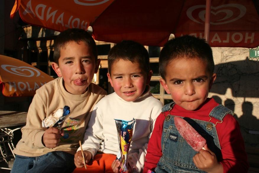 Ice cream time. Creel, Mexico.
