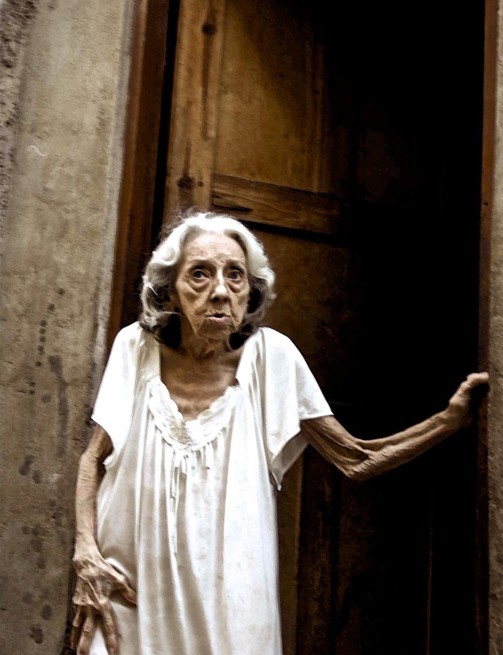 Ghost woman, Cuba.