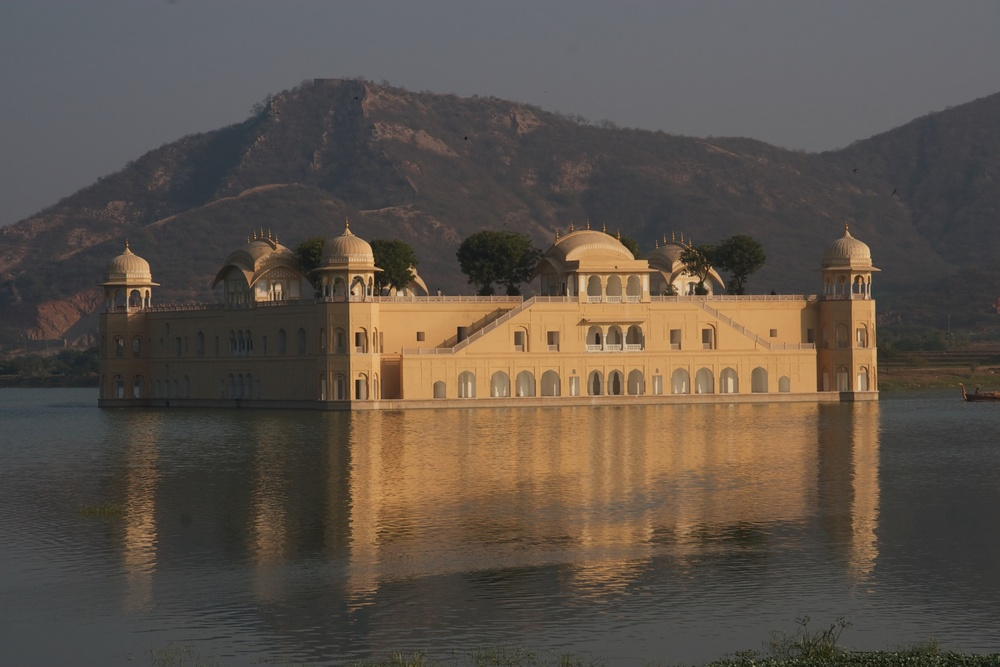 The Floating Palace. Udaipur, India.