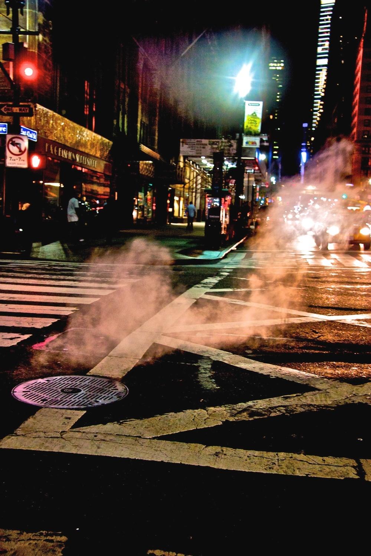 Night scene. New York, USA
