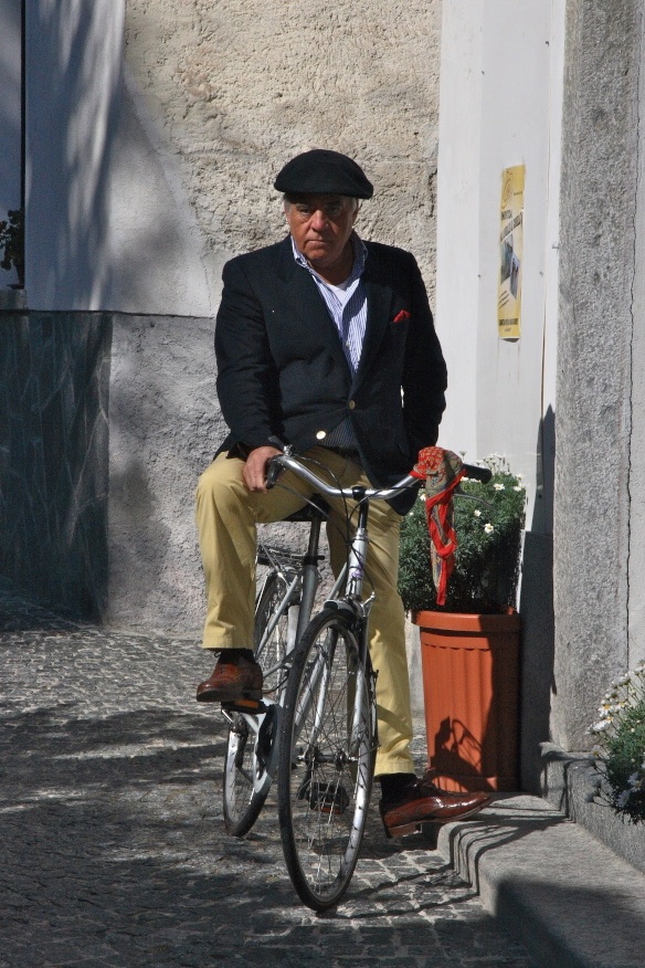 The village gentleman. Domodossola, Italy.